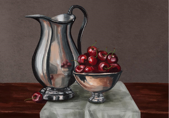 Still Life Painting by a VCA Student.